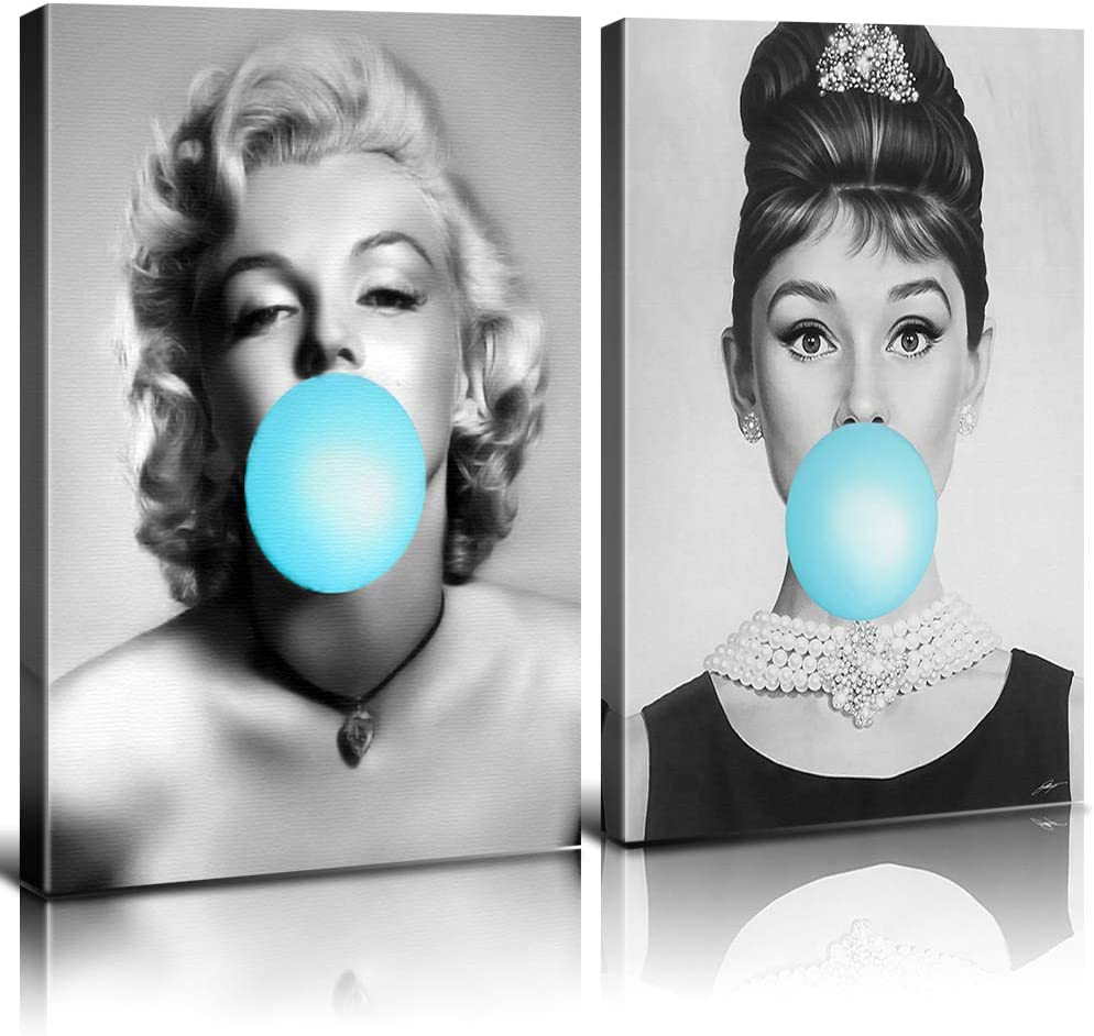 Superstar Celebrities Canvas Prints Wall Art Black and Whi Factory outlet Decor low-pricing