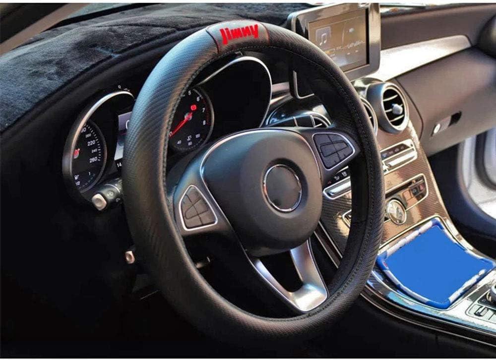 Morbidi E Antiscivolo Accessori Interni per Auto 1 Pezzo per Suzuki Jimny Coprivolante in Pelle Bovina 100/% Elegante da 15 Pollici