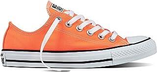 converse arancioni basse