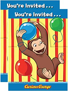 Best curious george birthday invitations Reviews