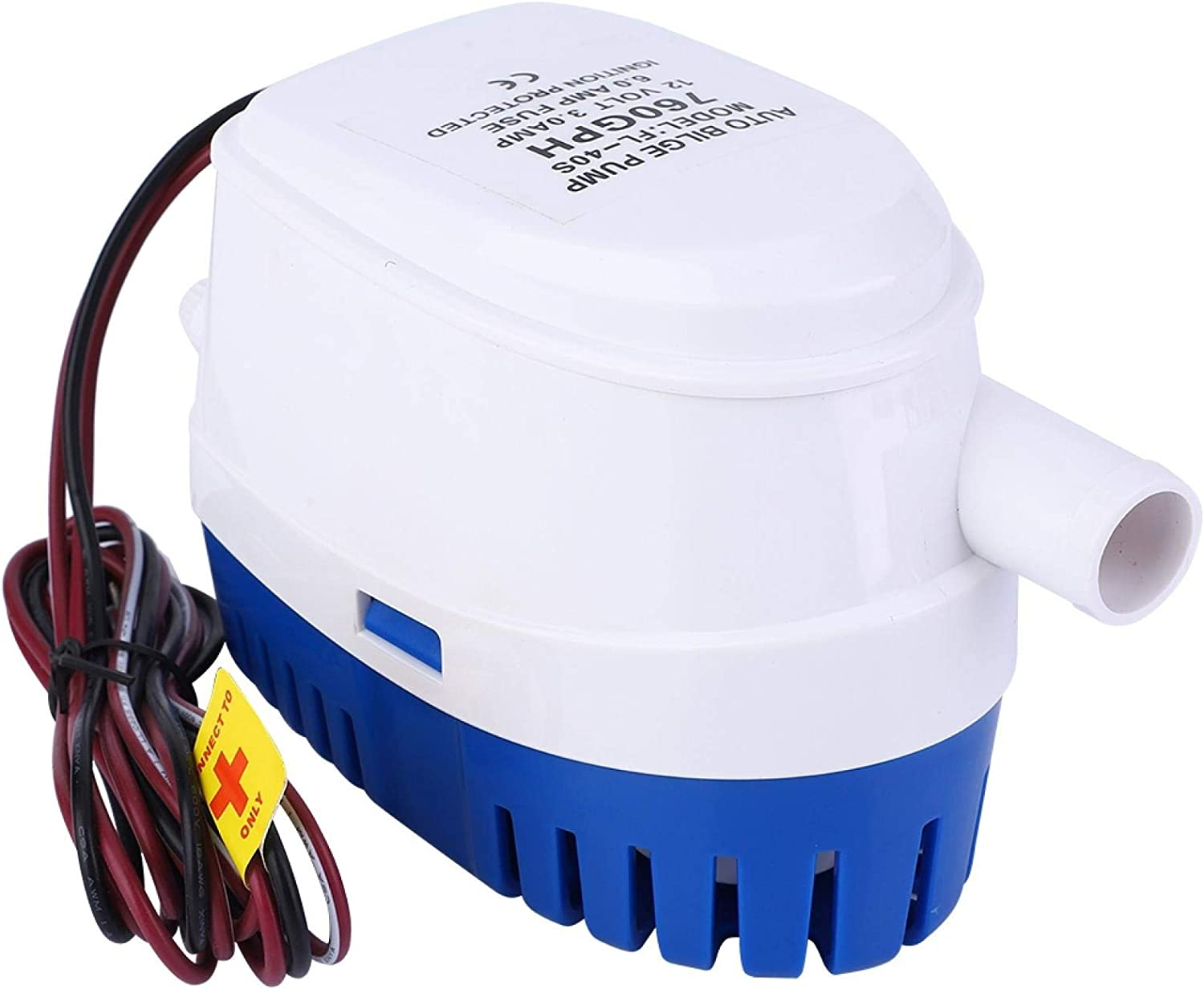 TANKE DC12V Automatic Submersible Bilge Max 40% OFF Pump with Float Water Oakland Mall Sw