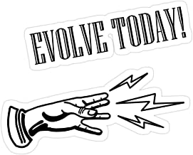 Big Lens store Evolve Today Stickers (3 Pcs/Pack)