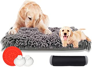 U/K Snuffle Mat for Dogs, Interactive Feeding Mat for Boredom, Durable and Machine Washable Nosework Blanket for Any Breed...
