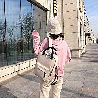 Luggage & Bags Oxford Cloth Waterproof School Backpack Casual Handbag Shoulder Bag Luggage & Bags (Color : Beige)
