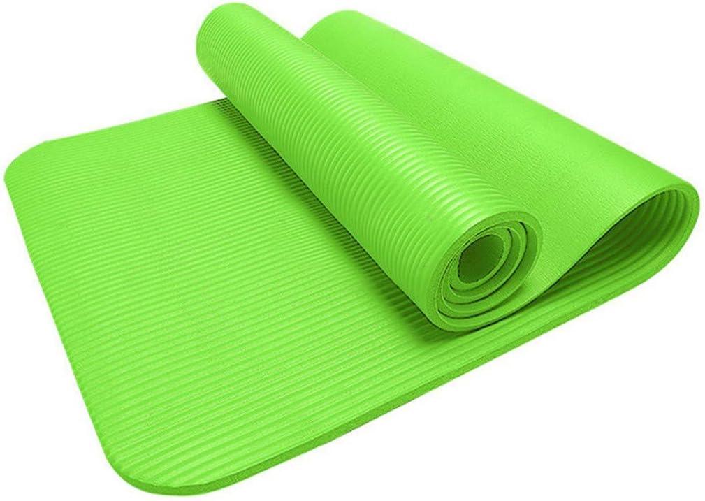 extra dicke /Übung Pilates-Matte Yogamatten f/ür Frauen dicke umweltfreundliche Yogamatte rutschfeste Yogamatte Fitness leicht Yogamatten f/ür Zuhause Yoga-Pad breite dicke Trainingsmatte