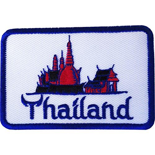 Tailandia parche hierro Sew gamuza bolsa jeans chaqueta