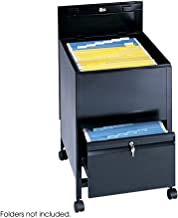 safco rollaway mobile file cart