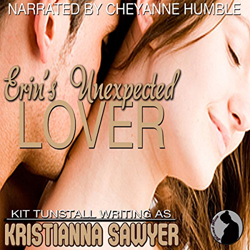Erin's Unexpected Lover audiobook cover art