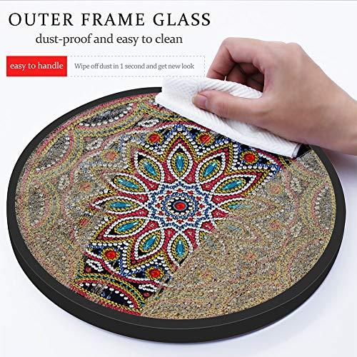 ACHICOO Mandala Blume Katze Mural quaste DIY Diamant malerei anhänger Dekoration Handarbeit Handwerk YKH106