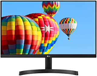 LG 24MK600M-B 24'' Full HD (1920 x 1080) IPS Display with 3-Side Virtually Borderless Design and Radeon FreeSync Technolog...