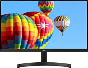 LG 24MK600M-B 24 Inch Full HD Monitor with Radeon FreeSync, Black