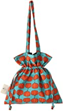 Shoulder Handbags for Women Crossbody Bag Messenger Bags,Casual Drawstring Tote Environmental Protection Large Capacity Lightweight for College Hiking Travel Business,Orange