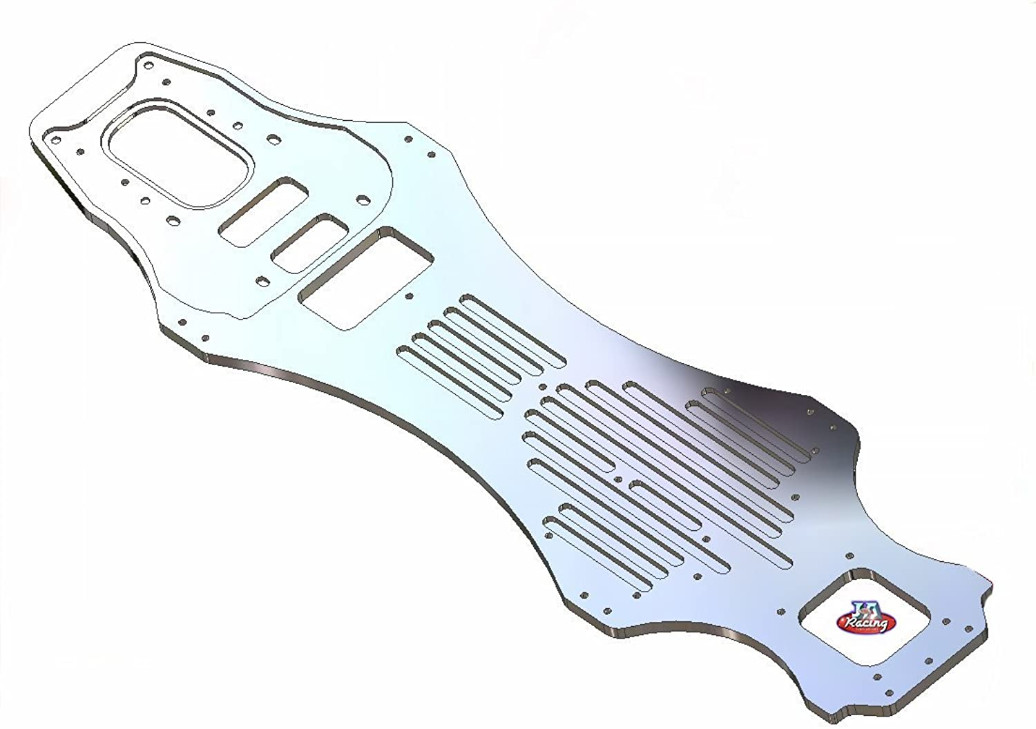 J&A Racing 1 5th scale T3 long wheelbase chassis 535mm