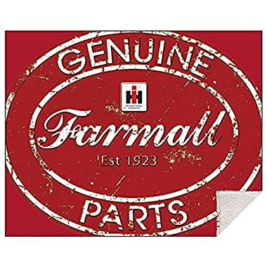 Farmall Harvester Genuine Parts Sherpa Blanket