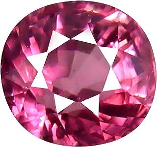 1.05 ct AAA+ Grade Oval Shape (5 x 5 mm) Unheated Pink Malaya Garnet Natural Loose Gemstone