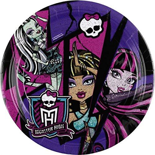 Amscan International 23cm NEU Monster High Teller