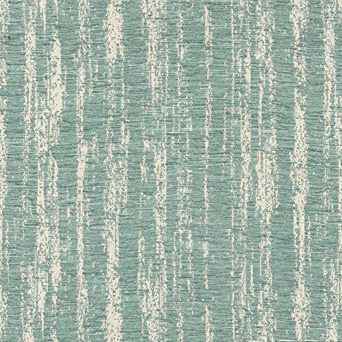 Con tejido de chenilla, tela, azul pastel, By Half-Metre