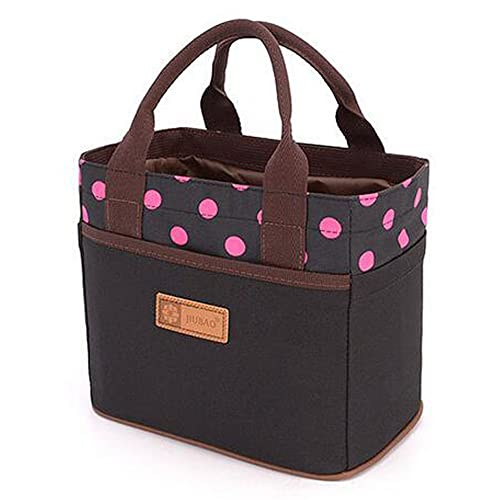 Canvas Bento Lunch Bag for Picnic School Office Tote Lunch Bag with Rope  Belt Stylish ( 4bcf5b90b