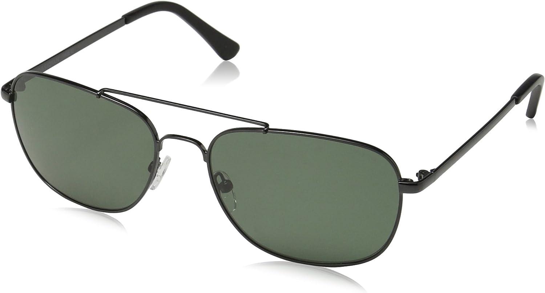 Obsidian Sunglasses for Men Aviator Polarized Rectangle Frame