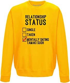 Mentally Dating Tamaki Suoh, Adults Printed Sweatshirt