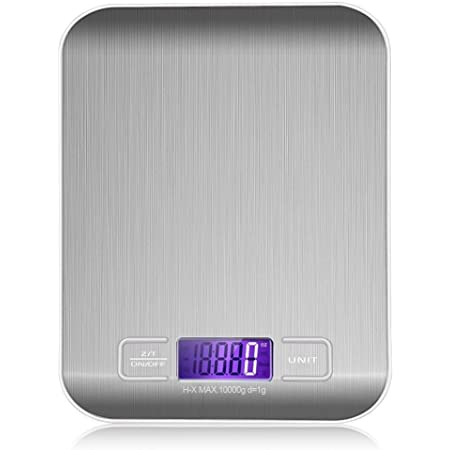 300g Digital LCD Kitchen Cooking Food Electronic Stainless Steel Weighing Scale