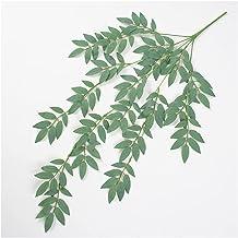 5 stks zijde nep kunstmatige planten wijnstok groene wilgen bladeren wijnstok opknoping garland rotan wijnstok home tuin b...