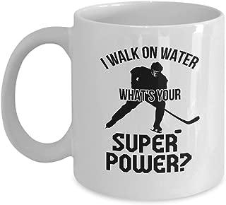 Funny Ice Hockey Coach Novelty Gifts Coffee & Tea Gift Mug (11oz)