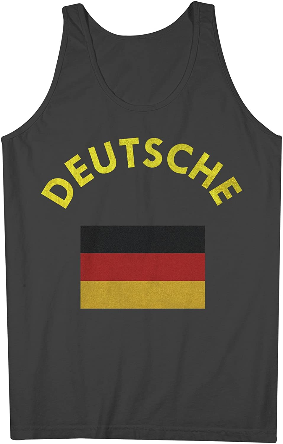 Deutsche Deutschland Germany German Flag 男性用 Tank Top Sleeveless Shirt