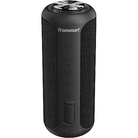 Tronsmart T6 Plus Upgraded Portable Bluetooth Speakers, Wireless Bluetooth Speakers Loud with 40W Surround Sound, Waterproof Outdoor Speakers, True Wireless Stereo, NFC, Party Speaker Indoor Outdoor