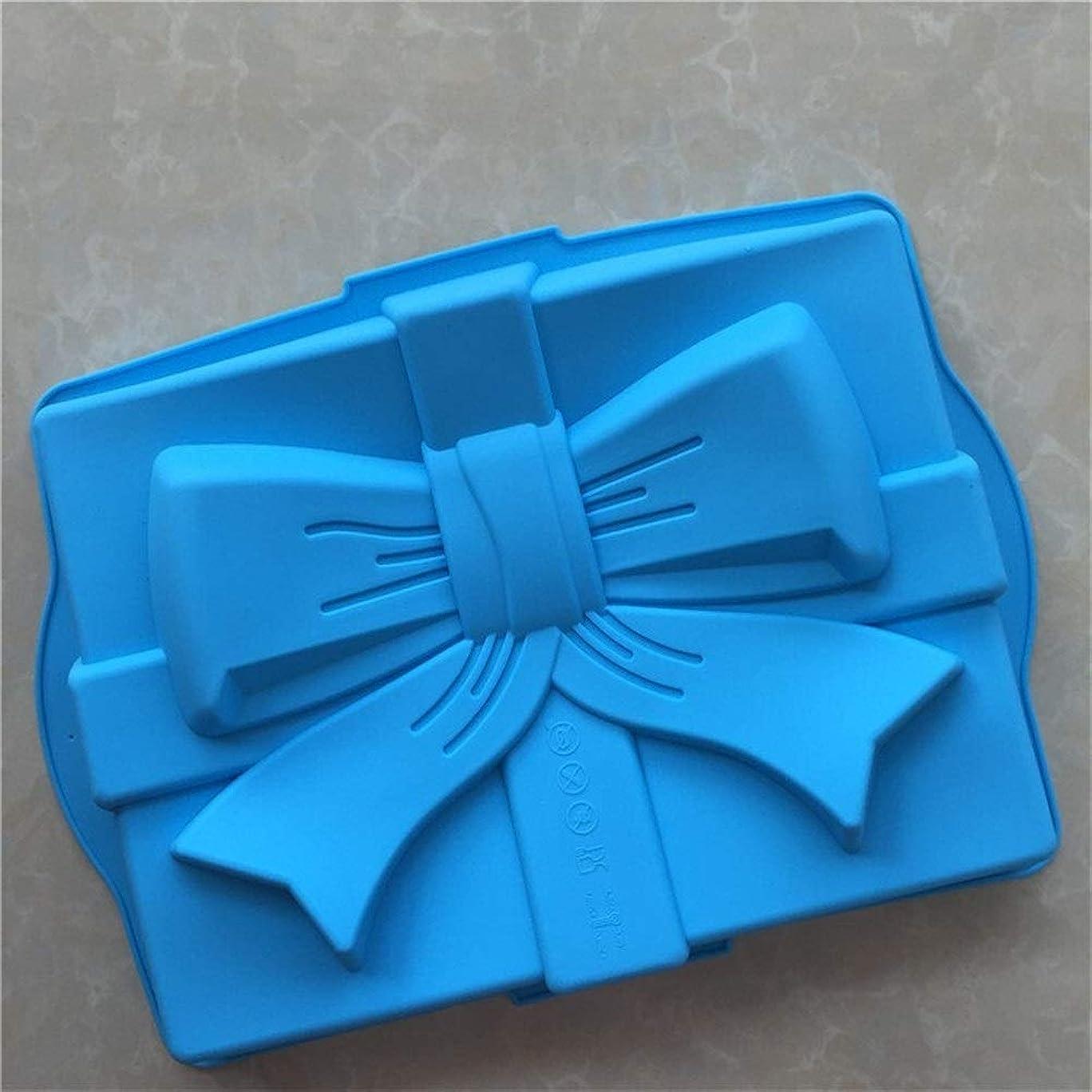 消去地理集中的な誕生日ケーキ型シリコンケーキベーキングトレイ/記念日誕生日ケーキ、パン、マフィン、ブラウニーケーキ用シリコンモールド メーカー (Color : Random Color)