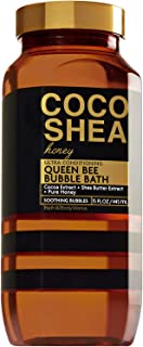 Bath & Body Works Coco Shea Honey 15 Ounce Ultra Conditioning Queen Bee Bubble Bath