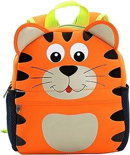 La tigre 06 Zaino per Bambini Leggero Sacchetto di Scuola Pieno Stampa per Bambini in et/à Prescolare 3-8 anni Zaino per Pannolini in Polvere per Latte in Polvere 25.4x10x30 CM