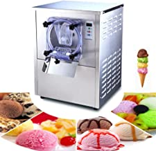 Zinnor Commercial Hard Ice Cream Machine 20L/H Food Grade Stainless Steel Ice Cream Machine 1400W Commercial Ice Cream Maker