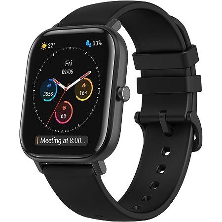 Amazfit Smartwatch GTS Orologio da Polso Display del Quadrante in Vetro 3D Impermeabile 5 ATM con GPS, Contapassi, 12 Modalità Sport per Donna Uomo