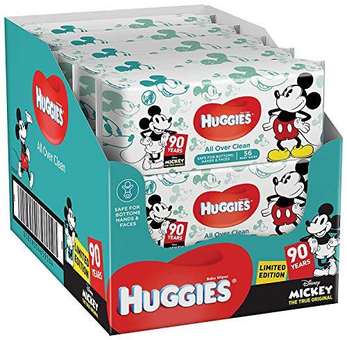 Huggies Le Monde de Dory Édition spéciale Lot de 10paquets de lingettes bébé Total 10x 56lingettes
