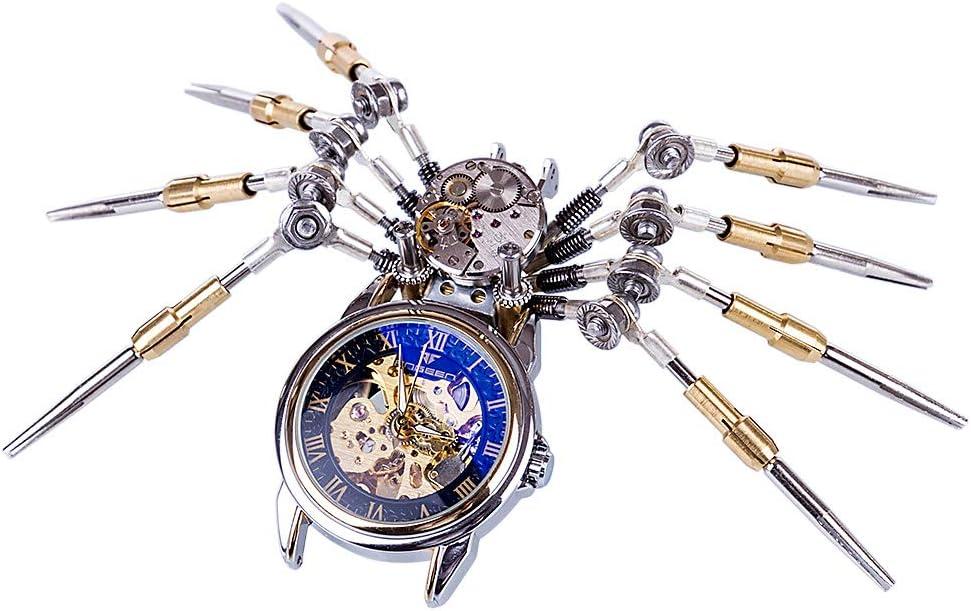 PeleusTech Now on sale Metal 2021 new 3D Puzzle Kit DIY Clock Sp Mechanical