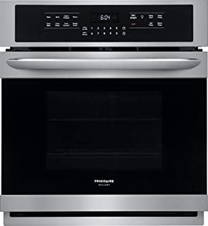 Frigidaire FGEW2766UF 27 Inch 3.8 cu. ft. Total Capacity Electric Single Wall Oven with 2 Oven Racks in Smudge Proof Stainless Steel