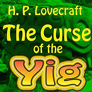 The Curse of the Yig audiobook cover art