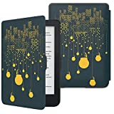 MoKo Funda para Kobo Clara HD, Protector Ultra Ligero Compacto Ultra Compacta Cubierta Carcasa para Kobo Clara HD 6' Tableta/e-Reader, Escena de Ciudad