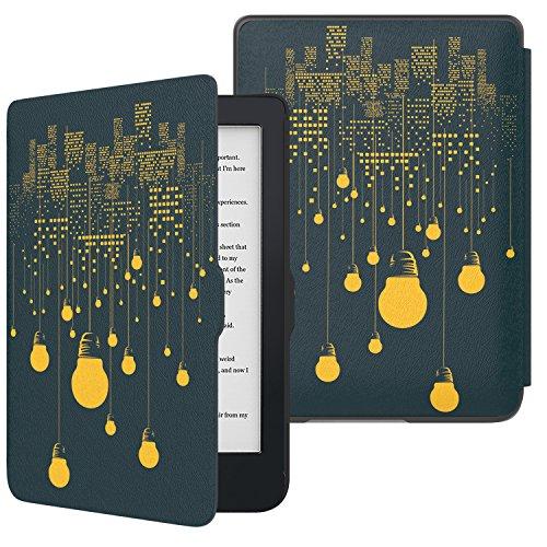MoKo Kobo Clara HD Funda, Premium Ultra Compacta, Protectora Sleep Wake Up Slim Light Cover Case para Kobo Clara HD 6' Tablet/e-Reader,...