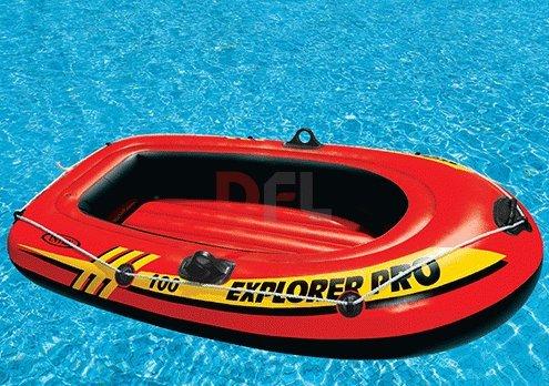 Caña Explorer Pro 200 Intex 58356 hinchable 196 x 102 x 33 cm para playa