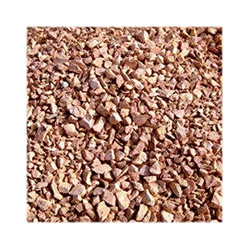 Jawoll 25 kg Latte-Macciato-Splitt 16-32 mm Körnung Zierkies Gartenkies Teichkies Zen Garten Deko Wegkies Wegsteine Gartenweg