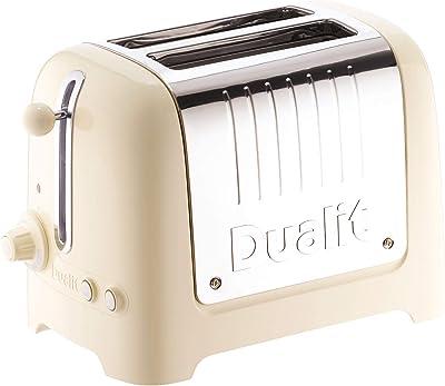 Dualit 2-Slot Lite Toaster, Cream Gloss