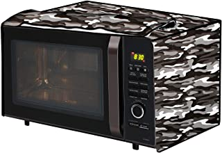 The Furnishing Tree Microwave Oven Cover for LG 32 L Convection MC3286BLT Camouflage Pattern Multicolor