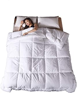 Hotel Bedding, Down Comforter, Pure Cotton Quilt, Cool Summer Quilt, Air-conditioned Quilt (600g/m2,1.5m*2m)