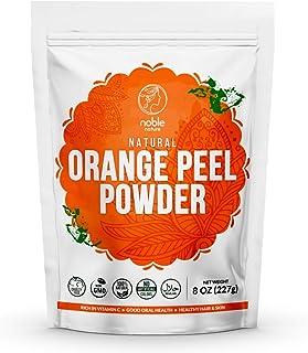 Noble Nature Natural Orange Peel Powder, 227 gms (Citrus Aurantium) (Santra Chilka) | 100% Natural and Pure | For Skin Whi...