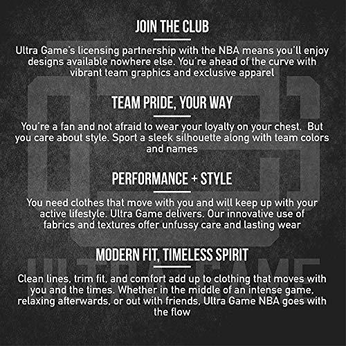 Ultra Game NBA - Chaqueta clásica con cremallera completa para hombre, Gris, XL