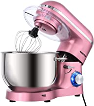 Aucma Stand Mixer,6.5-QT 660W 6-Speed Tilt-Head Food Mixer, Kitchen Electric Mixer with..