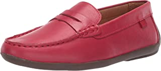 MARC JOSEPH NEW YORK Kids' Leather Made in Brazil Luxury Fashion Slip on Loafer with Penny Detail