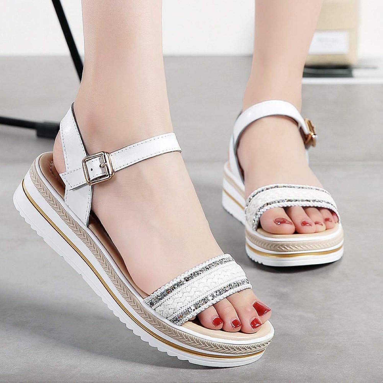 89d8cf78de5df Hasag Sports shoes New Sandals Women's ThickSoled Woven Women's ...